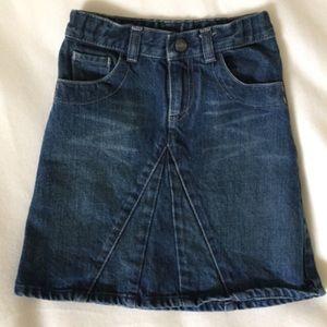 HTF Gap Denim Skirt Longer Length
